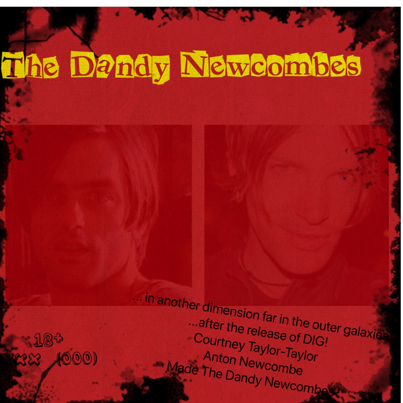 Courtney Taylor-Taylor Anton Newcombe, Neo Psychedelic, Neo Psych, The Kundalini Genie, Melting Mallows, The Casey Jr. Ride, The Dandy Newcombes